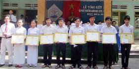 Học sinh trường THPT Phạm Phú Thứ đạt 16 giải ở tỉnh